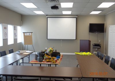Pro-Tech's Training Boardroom